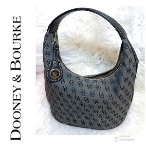 Dooney & Bourke Signature  Bucket Hobo Bag